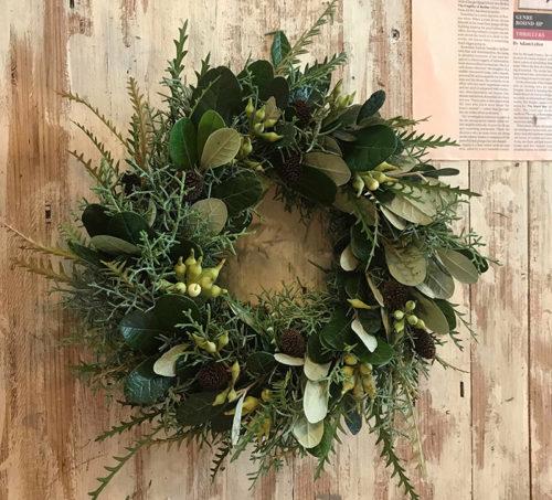 太陽樹林クリスマスリース